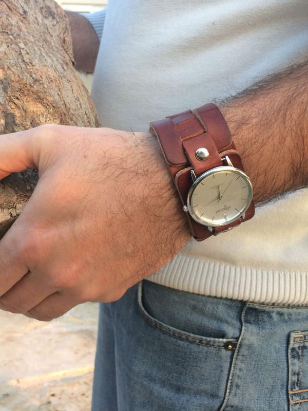 men bracelet watch by sigal levi