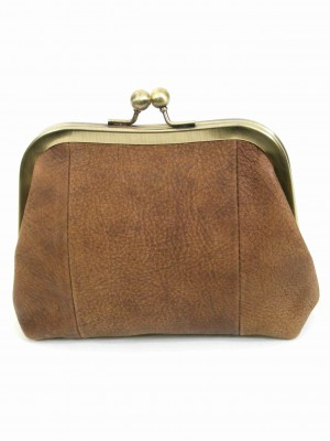 Brown Leather Purse Sigal Levi