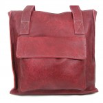Maroon bag front view 2