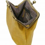 Yellow Sigal Levi Clutch open 1