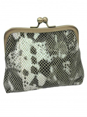 leather purse in snake pattern by sigal levi_low_res