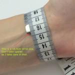 wrist size in cm