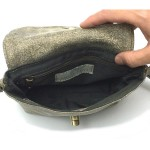 Small Shoulder Bag In Stone Color Leather made by Sigal Levi open1